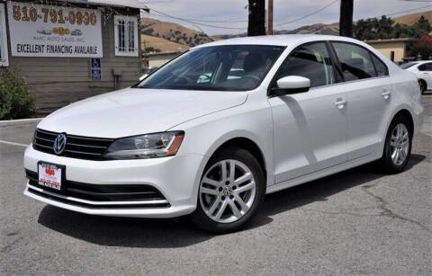 2017 Volkswagen Jetta for sale at AMC Auto Sales, Inc. in Fremont CA