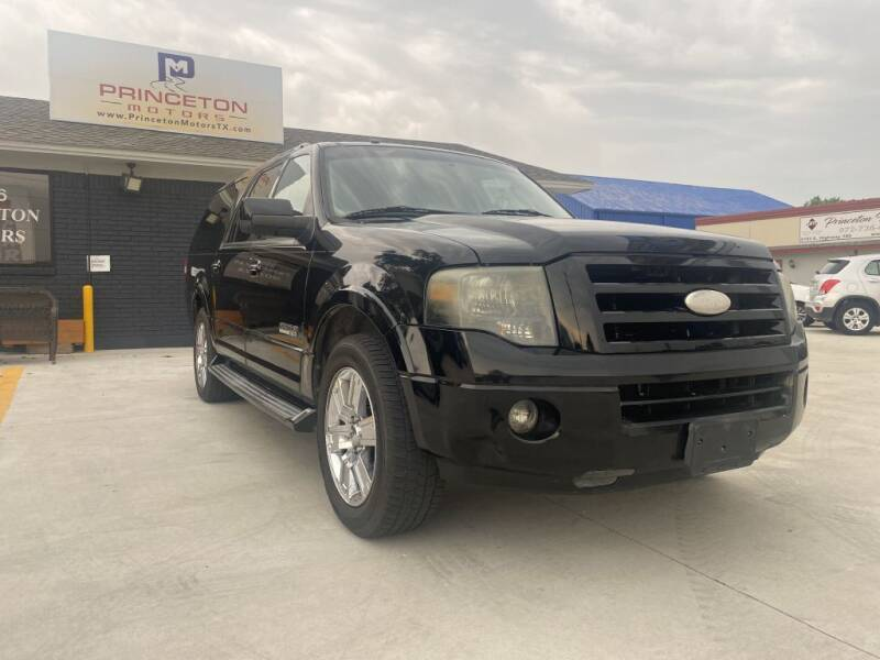 2007 Ford Expedition EL for sale at Princeton Motors in Princeton TX