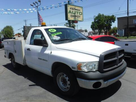 2005 Dodge Ram Chassis 2500 for sale at HILMAR AUTO DEPOT INC. in Hilmar CA