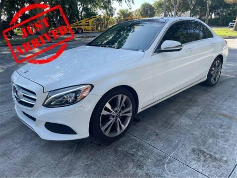 2018 Mercedes-Benz C-Class for sale at Florida Fine Cars - West Palm Beach in West Palm Beach FL