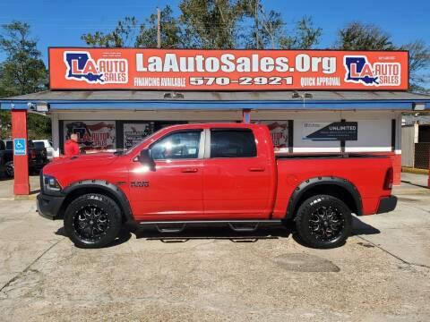 2016 RAM Ram Pickup 1500 for sale at LA Auto Sales in Monroe LA