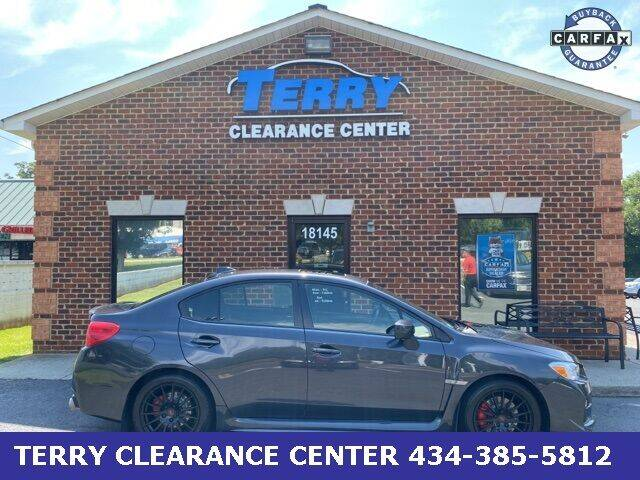 2016 Subaru WRX for sale at Terry Clearance Center in Lynchburg VA