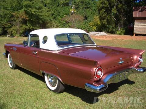 1957 Ford Thunderbird for sale at SW Dynamic Motorsports in Garland TX