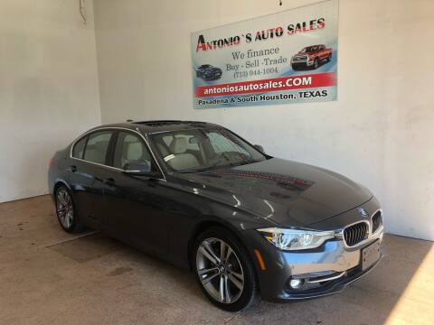 2017 BMW 3 Series for sale at Antonio's Auto Sales in South Houston TX