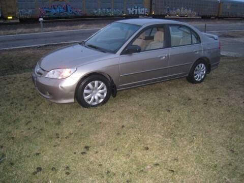 2005 Honda Civic for sale at BEST CAR MARKET INC in Mc Lean IL