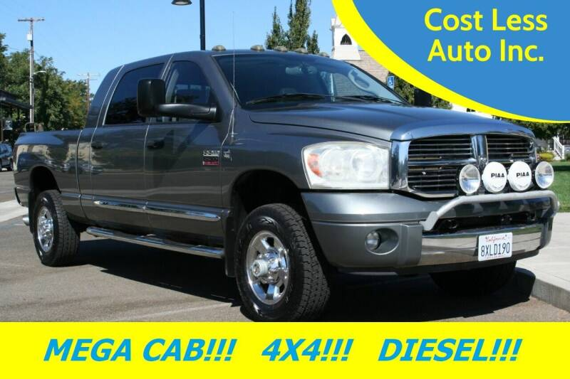 2008 Dodge Ram Pickup 2500 for sale at Cost Less Auto Inc. in Rocklin CA