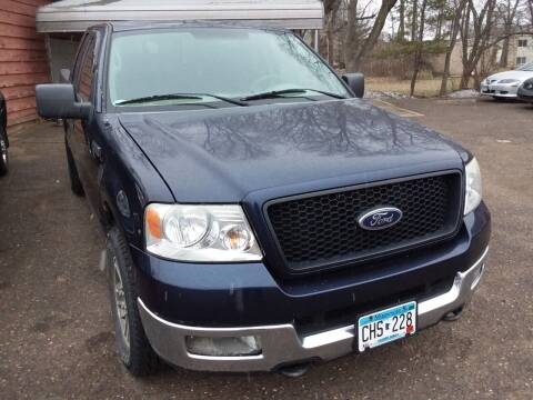 2005 Ford F-150 for sale at Sunrise Auto Sales in Stacy MN