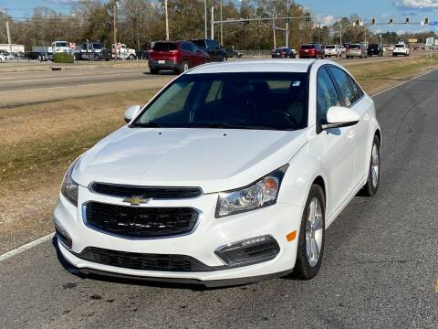 2015 Chevrolet Cruze for sale at Double K Auto Sales in Baton Rouge LA