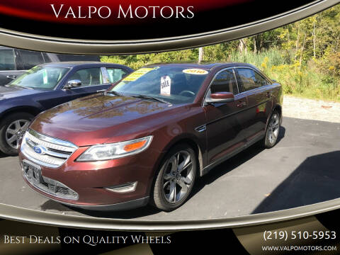 2010 Ford Taurus for sale at Valpo Motors in Valparaiso IN