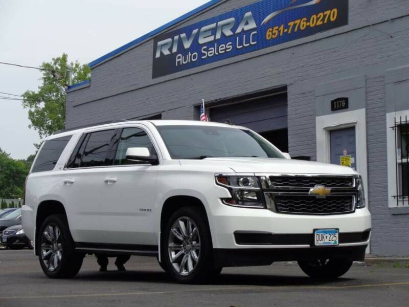 2015 Chevrolet Tahoe for sale at Rivera Auto Sales LLC in Saint Paul MN