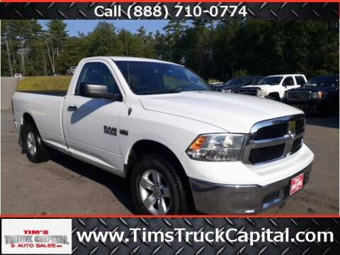 2015 RAM Ram Pickup 1500 for sale at TTC AUTO OUTLET/TIM'S TRUCK CAPITAL & AUTO SALES INC ANNEX in Epsom NH