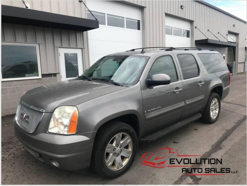 2007 GMC Yukon XL for sale at Evolution Auto Sales LLC in Springville UT
