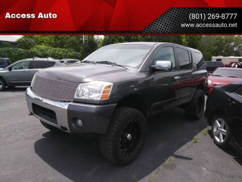2006 Nissan Armada for sale at Access Auto in Salt Lake City UT