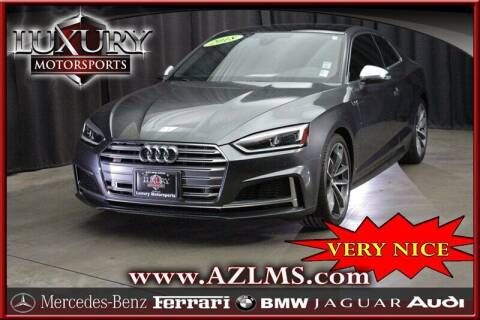 2018 Audi S5 for sale at Luxury Motorsports in Phoenix AZ