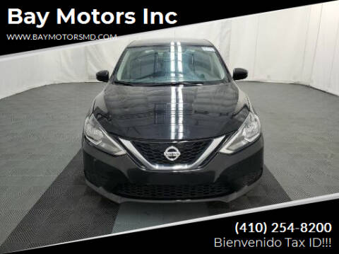 2016 Nissan Sentra for sale at Bay Motors Inc in Baltimore MD