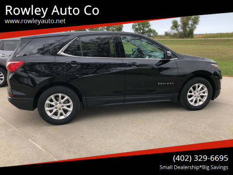2018 Chevrolet Equinox for sale at Rowley Auto Co in Pierce NE