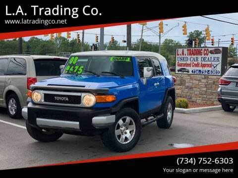 2008 Toyota FJ Cruiser for sale at L.A. Trading Co. in Woodhaven MI