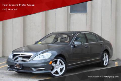 2010 Mercedes-Benz S-Class for sale at Four Seasons Motor Group in Swampscott MA