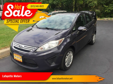 2013 Ford Fiesta for sale at Lafayette Motors 2 in Andover NJ