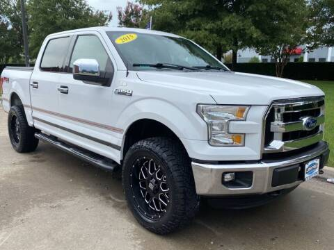 2015 Ford F-150 for sale at UNITED AUTO WHOLESALERS LLC in Portsmouth VA
