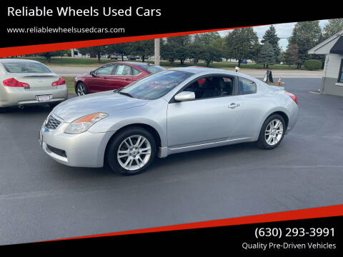 2008 Nissan Altima for sale at Reliable Wheels Used Cars in West Chicago IL