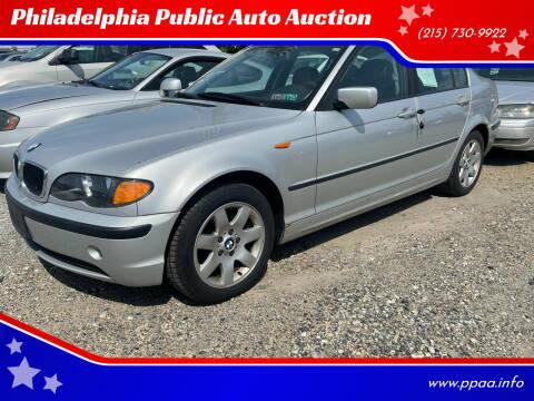 2004 BMW 3 Series for sale at Philadelphia Public Auto Auction in Philadelphia PA