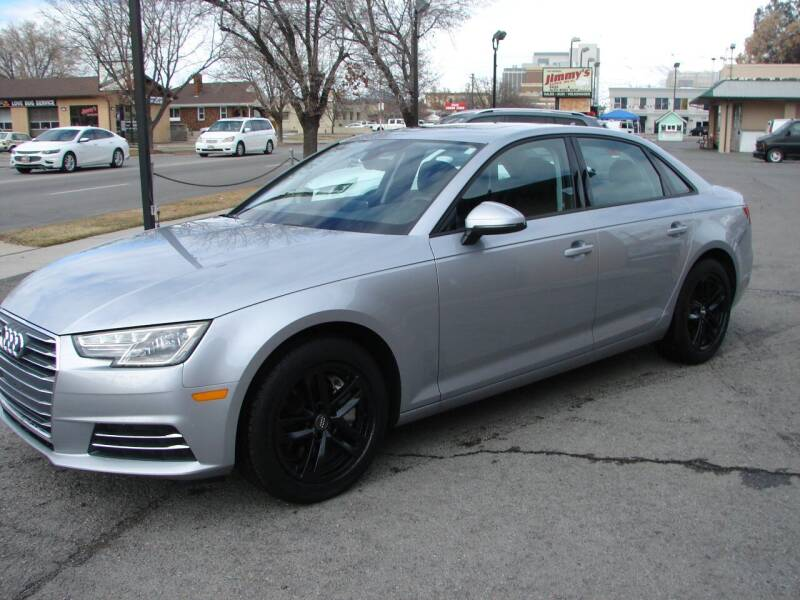 2017 Audi A4 for sale at Jimmy's Love Bug in Provo UT