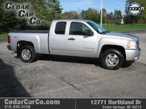 2011 Chevrolet Silverado 1500 for sale at Cedar Car Co in Cedar Springs MI