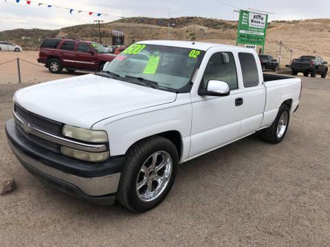 2002 Chevrolet Silverado 1500 for sale at Hilltop Motors in Globe AZ