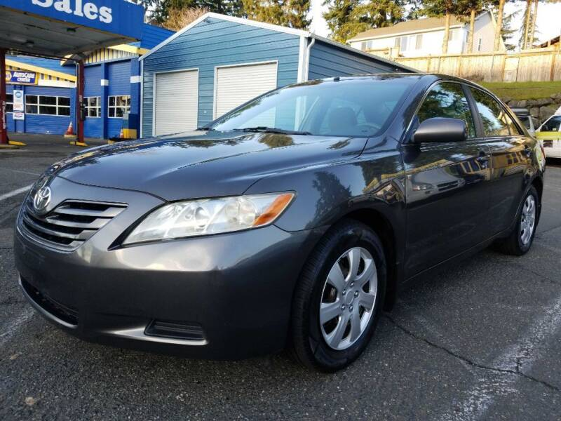 2008 Toyota Camry for sale at Shoreline Family Auto Care And Sales in Shoreline WA