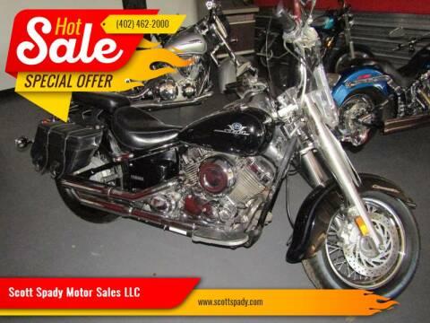 2002 Yamaha XVS65/A for sale at Scott Spady Motor Sales LLC in Hastings NE