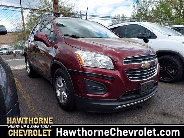 2016 Chevrolet Trax for sale at Hawthorne Chevrolet in Hawthorne NJ