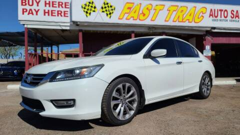 2013 Honda Accord for sale at Fast Trac Auto Sales in Phoenix AZ