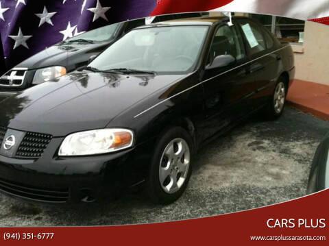 2005 Nissan Sentra for sale at Cars Plus in Sarasota FL