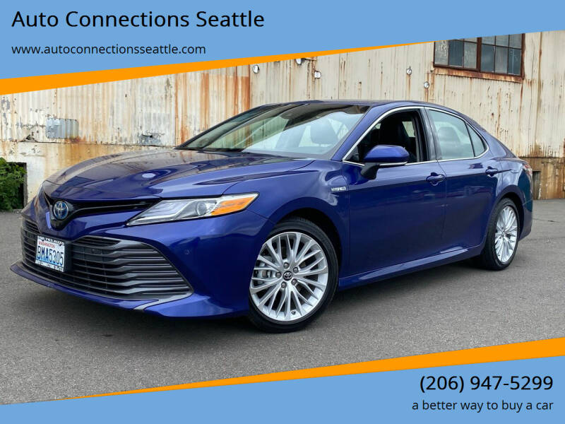 2018 Toyota Camry Hybrid for sale at Auto Connections Seattle in Seattle WA
