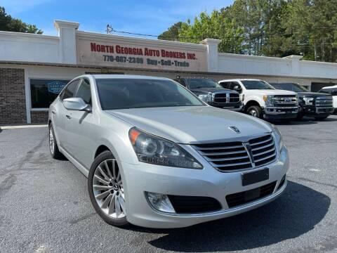 2014 Hyundai Equus for sale at North Georgia Auto Brokers in Snellville GA