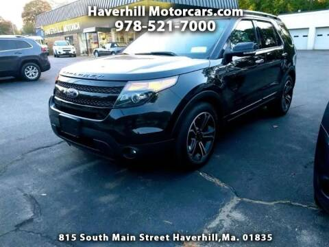 2014 Ford Explorer for sale at 125 Auto Finance in Haverhill MA