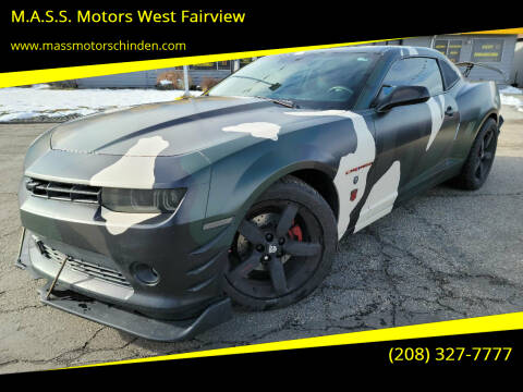 2014 Chevrolet Camaro for sale at M.A.S.S. Motors - West Fairview in Boise ID
