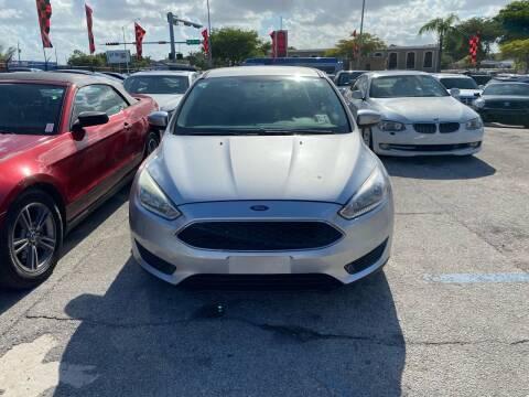 2016 Ford Focus for sale at America Auto Wholesale Inc in Miami FL