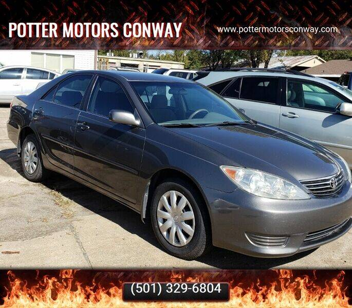 2005 Toyota Camry for sale at Potter Motors Conway in Conway AR