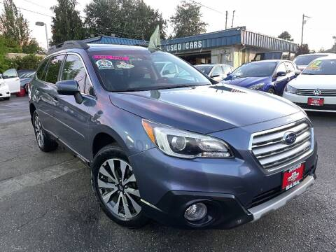 2017 Subaru Outback for sale at Real Deal Cars in Everett WA
