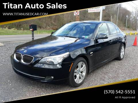 2010 BMW 5 Series for sale at Titan Auto Sales in Berwick PA
