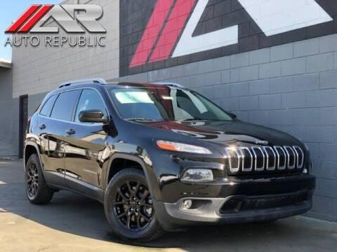2018 Jeep Cherokee for sale at Auto Republic Fullerton in Fullerton CA