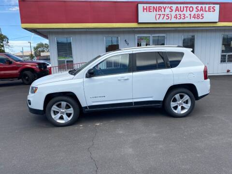 2016 Jeep Compass for sale at Henry's Autosales, LLC in Reno NV