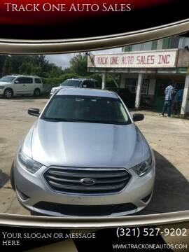2015 Ford Taurus for sale at Track One Auto Sales in Orlando FL