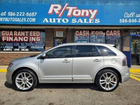 2009 Ford Edge for sale at R Tony Auto Sales in Clinton Township MI