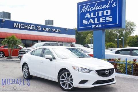 2017 Mazda MAZDA6 for sale at Michael's Auto Sales Corp in Hollywood FL