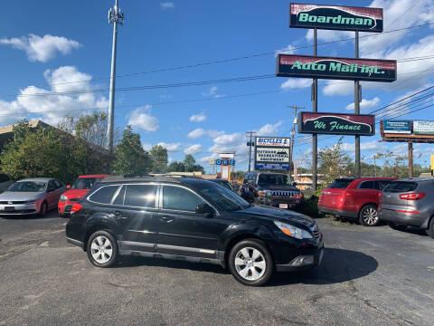 2012 Subaru Outback for sale at Boardman Auto Mall in Boardman OH