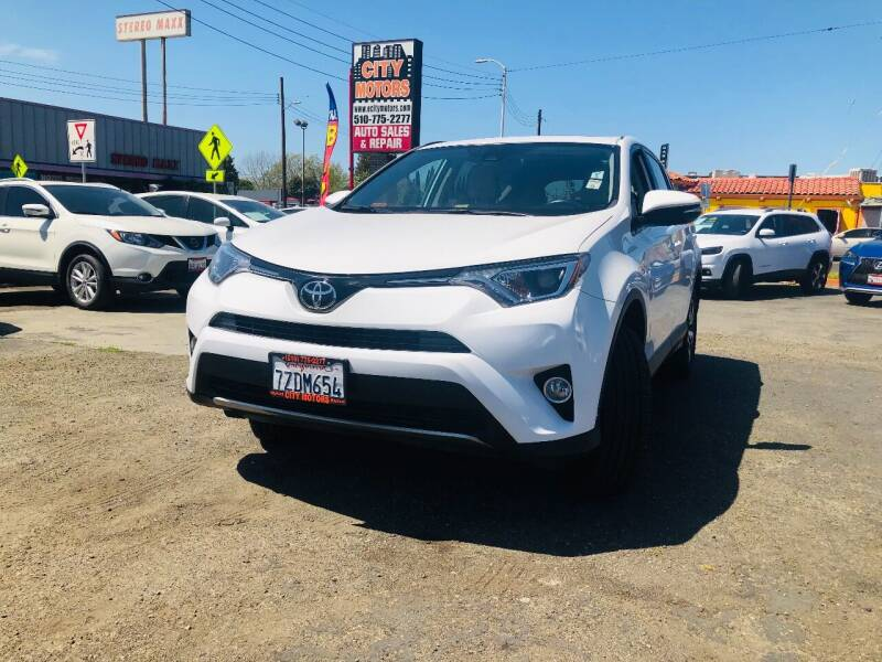2017 Toyota RAV4 for sale at City Motors in Hayward CA