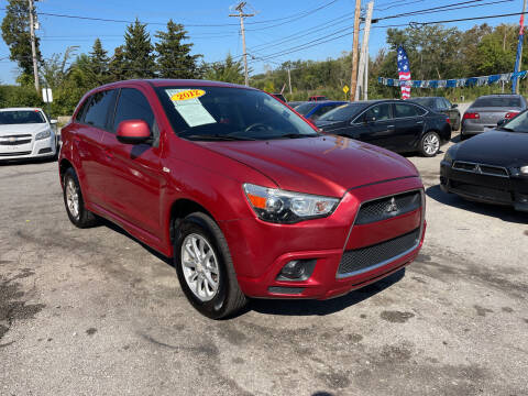 2012 Mitsubishi Outlander Sport for sale at I57 Group Auto Sales in Country Club Hills IL